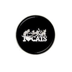 Catz Golf Ball Marker (for Hat Clip) by artattack4all
