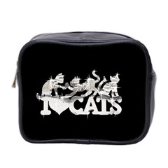 Catz Twin Sided Cosmetic Case by artattack4all