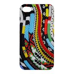 Multi Colored Beaded Background Apple Iphone 4/4s Hardshell Case