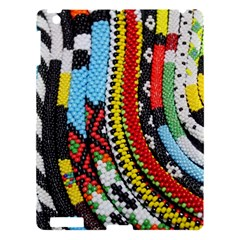 Multi Colored Beaded Background Apple Ipad 3/4 Hardshell Case by artattack4all