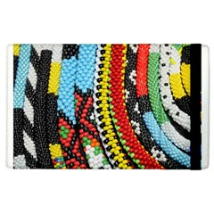 Multi Colored Beaded Background Apple Ipad 3/4 Flip Case by artattack4all