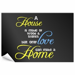 A House A Home By Sheila   Canvas 12  X 18    Dpcgpebfr69x   Www Artscow Com 18 x12 Canvas - 1