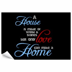 A House A Home By Sheila   Canvas 12  X 18    Dpcgpebfr69x   Www Artscow Com 18 x12 Canvas - 2