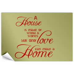 A House A Home By Sheila   Canvas 12  X 18    Dpcgpebfr69x   Www Artscow Com 18 x12 Canvas - 4