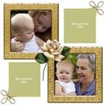 A little love Scrapbook Page 12x12 - ScrapBook Page 12  x 12