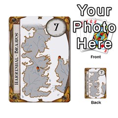 Ttr Westeros By Ryan   Multi Purpose Cards (rectangle)   Ey994ze1w3df   Www Artscow Com Front 9