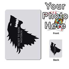 Ttr Westeros By Ryan   Multi Purpose Cards (rectangle)   Ey994ze1w3df   Www Artscow Com Back 14