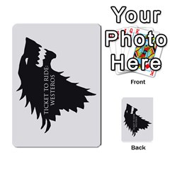 Ttr Westeros By Ryan   Multi Purpose Cards (rectangle)   Ey994ze1w3df   Www Artscow Com Back 40
