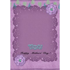 Card Mothersday By Shelly   Heart 3d Greeting Card (7x5)   3ol5oxm3h0za   Www Artscow Com Inside
