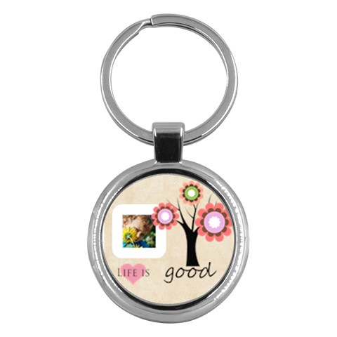 Kids By Jacob   Key Chain (round)   3mc0hiodfd70   Www Artscow Com Front