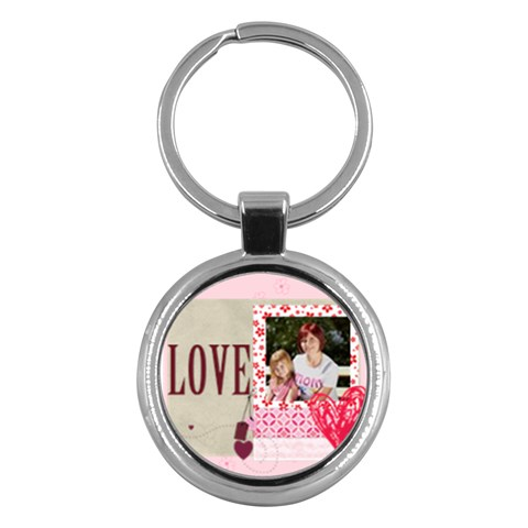 Kids By Jacob   Key Chain (round)   Kyr91mxhvkge   Www Artscow Com Front