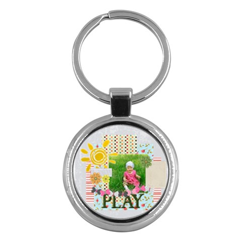 Kids By Jacob   Key Chain (round)   3hl1tp2r4cq5   Www Artscow Com Front