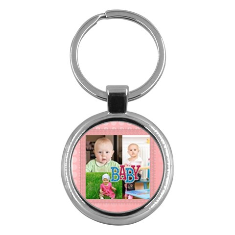 Kids By Jacob   Key Chain (round)   Qprw3v8jdj60   Www Artscow Com Front