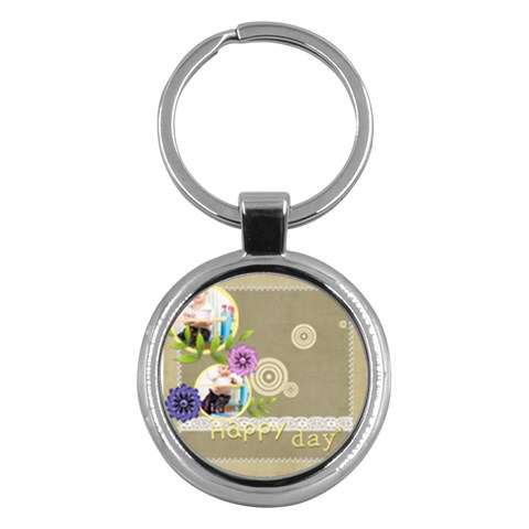 Kids By Jacob   Key Chain (round)   Ezrvabzglbs9   Www Artscow Com Front