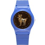 Aries Round Plastic Sport Watch Small