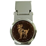 Aries Money Clip Watch