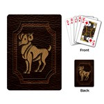 Aries Playing Cards Single Design