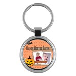 hallloween - Key Chain (Round)