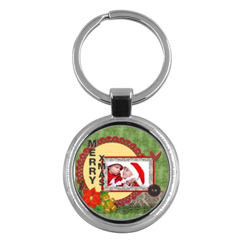 Kids By Debe Lee   Key Chain (round)   H72wv4xrge46   Www Artscow Com Front