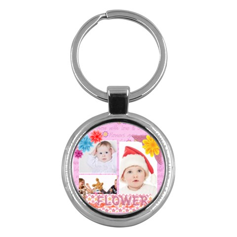 Kids By Betty   Key Chain (round)   W8oesgus2yij   Www Artscow Com Front