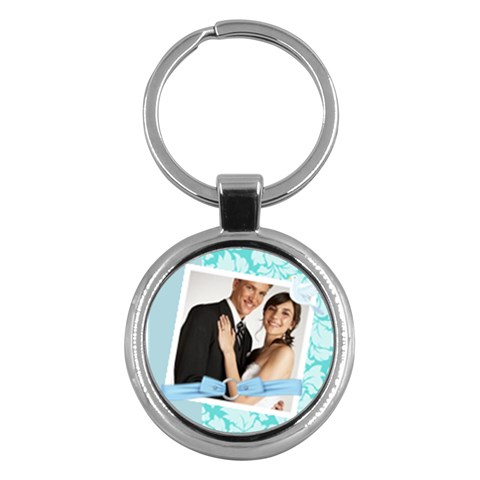 Wedding By Paula Green   Key Chain (round)   Bpclshi6r5re   Www Artscow Com Front