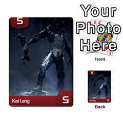 Mass Effect Planning Poker By Pek   Multi Purpose Cards (rectangle)   9x9sigtdwdnd   Www Artscow Com Front 6