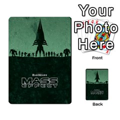 Mass Effect Planning Poker By Pek   Multi Purpose Cards (rectangle)   9x9sigtdwdnd   Www Artscow Com Back 52