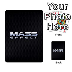 Mass Effect Planning Poker By Pek   Multi Purpose Cards (rectangle)   9x9sigtdwdnd   Www Artscow Com Back 54