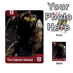 Mass Effect Planning Poker By Pek   Multi Purpose Cards (rectangle)   9x9sigtdwdnd   Www Artscow Com Front 7