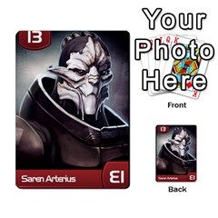Mass Effect Planning Poker By Pek   Multi Purpose Cards (rectangle)   9x9sigtdwdnd   Www Artscow Com Front 8