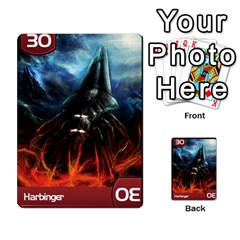 Mass Effect Planning Poker By Pek   Multi Purpose Cards (rectangle)   9x9sigtdwdnd   Www Artscow Com Front 10