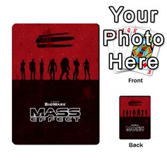 Mass Effect Planning Poker By Pek   Multi Purpose Cards (rectangle)   9x9sigtdwdnd   Www Artscow Com Back 10