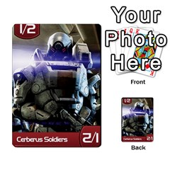 Mass Effect Planning Poker By Pek   Multi Purpose Cards (rectangle)   9x9sigtdwdnd   Www Artscow Com Front 2