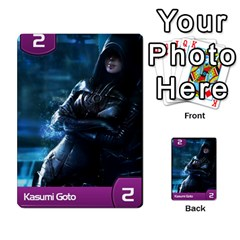 Mass Effect Planning Poker By Pek   Multi Purpose Cards (rectangle)   9x9sigtdwdnd   Www Artscow Com Front 17