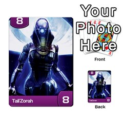 Mass Effect Planning Poker By Pek   Multi Purpose Cards (rectangle)   9x9sigtdwdnd   Www Artscow Com Front 20