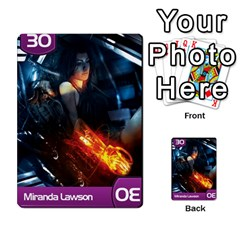 Mass Effect Planning Poker By Pek   Multi Purpose Cards (rectangle)   9x9sigtdwdnd   Www Artscow Com Front 23