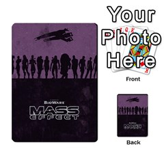 Mass Effect Planning Poker By Pek   Multi Purpose Cards (rectangle)   9x9sigtdwdnd   Www Artscow Com Back 25