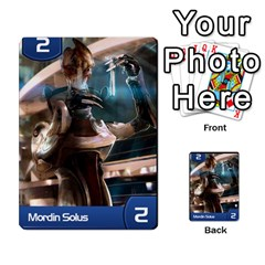 Mass Effect Planning Poker By Pek   Multi Purpose Cards (rectangle)   9x9sigtdwdnd   Www Artscow Com Front 30
