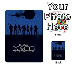 Mass Effect Planning Poker By Pek   Multi Purpose Cards (rectangle)   9x9sigtdwdnd   Www Artscow Com Back 32