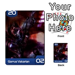 Mass Effect Planning Poker By Pek   Multi Purpose Cards (rectangle)   9x9sigtdwdnd   Www Artscow Com Front 35