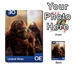 Mass Effect Planning Poker By Pek   Multi Purpose Cards (rectangle)   9x9sigtdwdnd   Www Artscow Com Front 36
