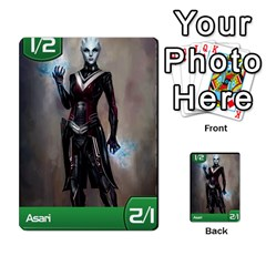 Mass Effect Planning Poker By Pek   Multi Purpose Cards (rectangle)   9x9sigtdwdnd   Www Artscow Com Front 41