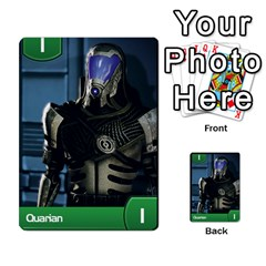 Mass Effect Planning Poker By Pek   Multi Purpose Cards (rectangle)   9x9sigtdwdnd   Www Artscow Com Front 42