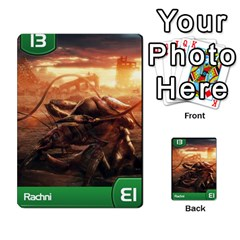 Mass Effect Planning Poker By Pek   Multi Purpose Cards (rectangle)   9x9sigtdwdnd   Www Artscow Com Front 47