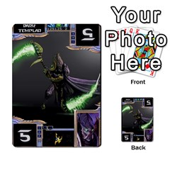 Starcraft Ii Planning Poker By Pek   Multi Purpose Cards (rectangle)   Ip32aoqffbgc   Www Artscow Com Front 6