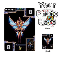 Starcraft Ii Planning Poker By Pek   Multi Purpose Cards (rectangle)   Ip32aoqffbgc   Www Artscow Com Front 7