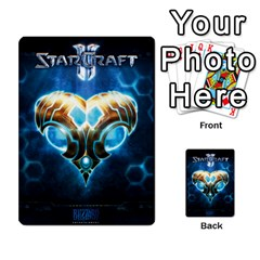 Starcraft Ii Planning Poker By Pek   Multi Purpose Cards (rectangle)   Ip32aoqffbgc   Www Artscow Com Back 2