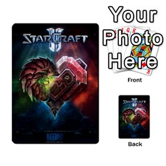 Starcraft Ii Planning Poker By Pek   Multi Purpose Cards (rectangle)   Ip32aoqffbgc   Www Artscow Com Back 18
