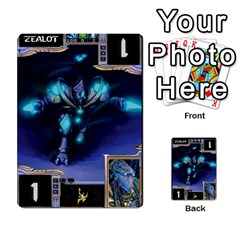 Starcraft Ii Planning Poker By Pek   Multi Purpose Cards (rectangle)   Ip32aoqffbgc   Www Artscow Com Front 3