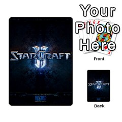Starcraft Ii Planning Poker By Pek   Multi Purpose Cards (rectangle)   Ip32aoqffbgc   Www Artscow Com Front 26